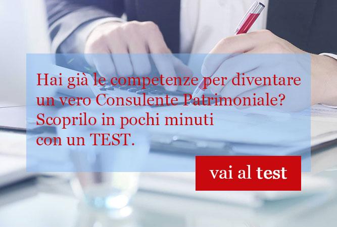 Vai al test per consulenti patrimoniali